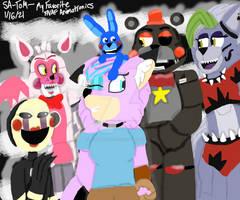 My Favorite FNAF Animatronics