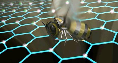 Honeycomb Cyber Bee