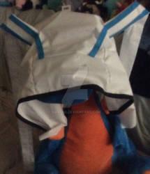 Hibiki's bunny hoodie WIP
