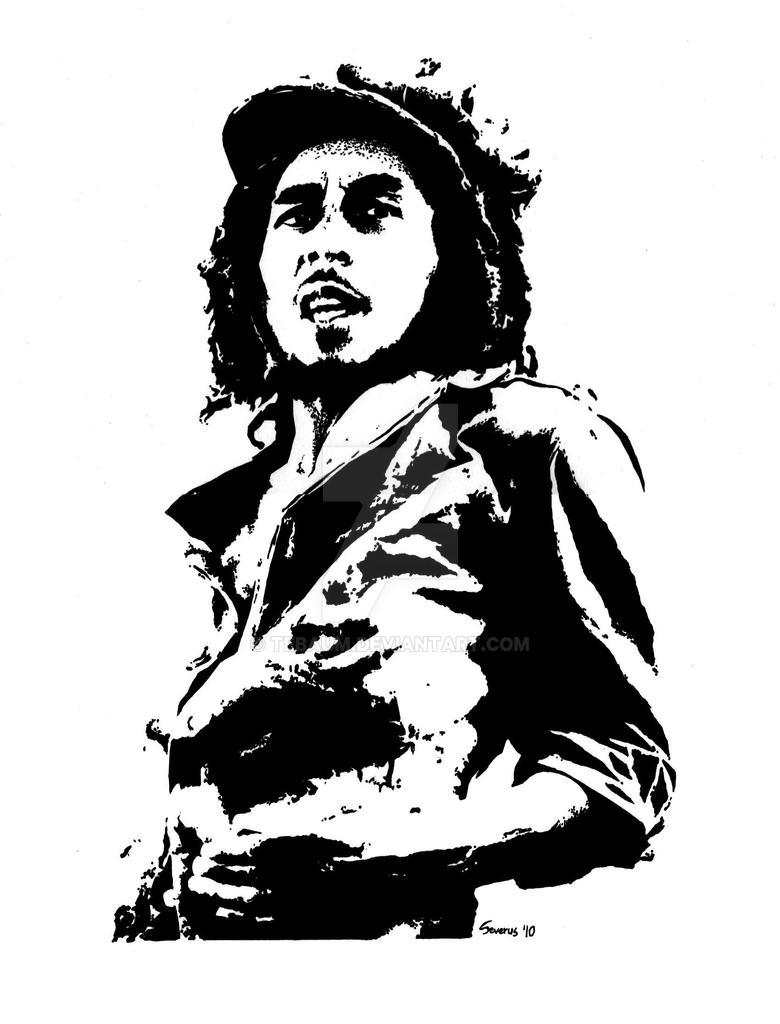 Bob Marley by Tebaum o...