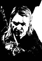 Butcher of Blaviken - Geralt by Tebaum