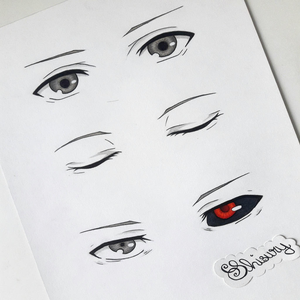 Kaneki Ken's Eyes By Shisury On DeviantArt