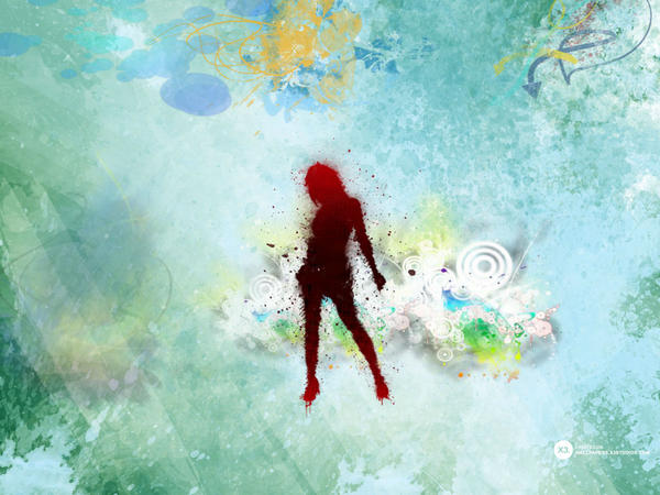 Abstract Girl by plazadelpirul