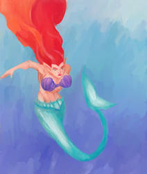 Mermaid by L1qw1d