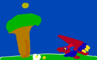 Rainbow on a sprint by RainbowDragons123