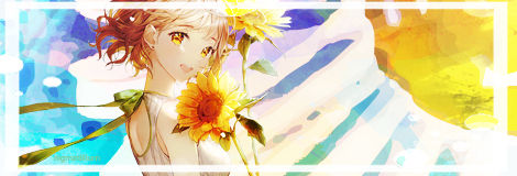 [signature] sunflower girl
