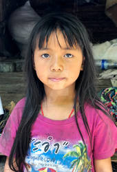 Little girl from north thailand