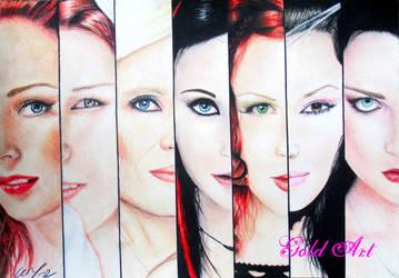 Queens Of Metal II by ArtGoldArt