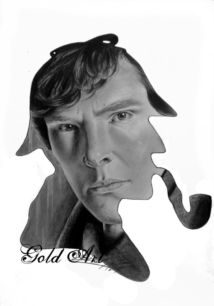 Holmes, Sherlock Holmes by ArtGoldArt