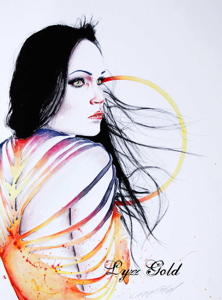Breathing air like fire by ArtGoldArt