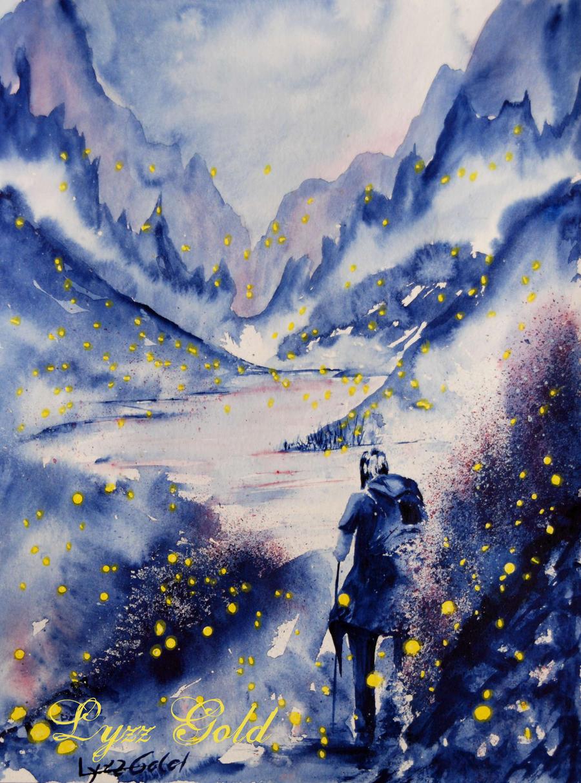 Fireflies by ArtGoldArt