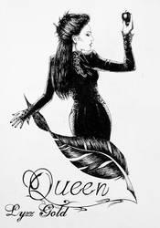Queen by ArtGoldArt