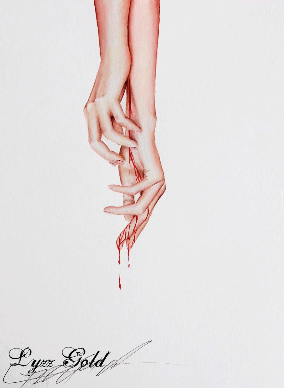 Bleeding by ArtGoldArt