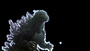 Godzilla 2000 Transparent
