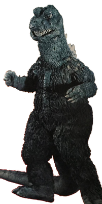 Godzilla 1968 Transparent Ver 5