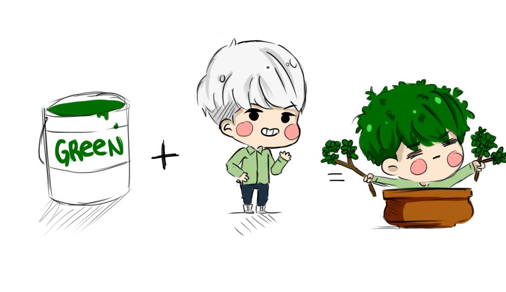 jonghyun bonsai by linekurosaki