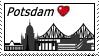 Potsdam Stamp by RatteMacchiato