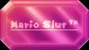 CRYSTAL STAMP ~ Mario Slut by CrystalCrowned