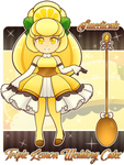 Sweeticals ~ Triple Lemon Wedding Cake