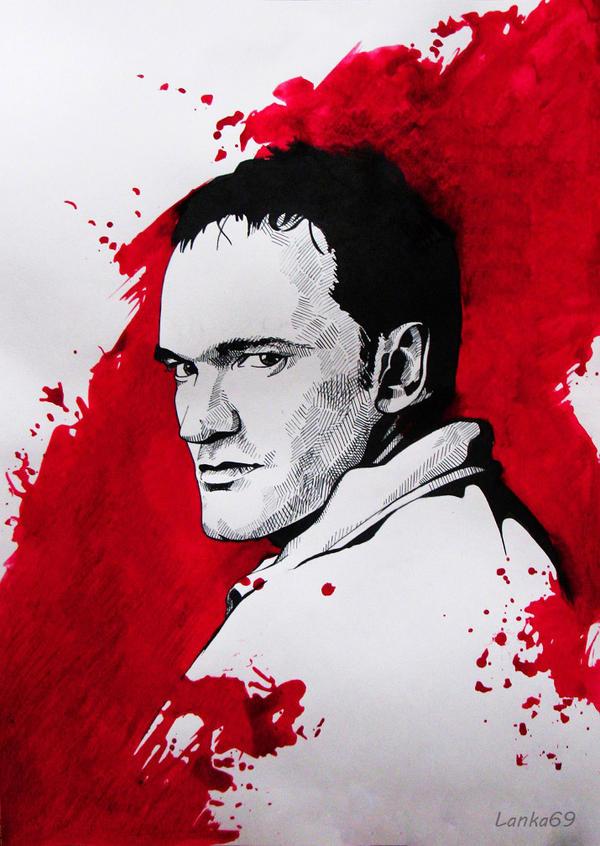 Quentin Tarantino by Lanka69