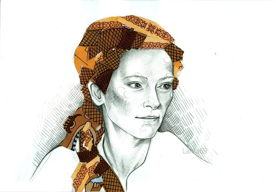 Tilda Swinton by Lanka69