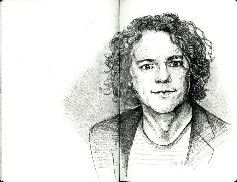 Alan Davies by Lanka69