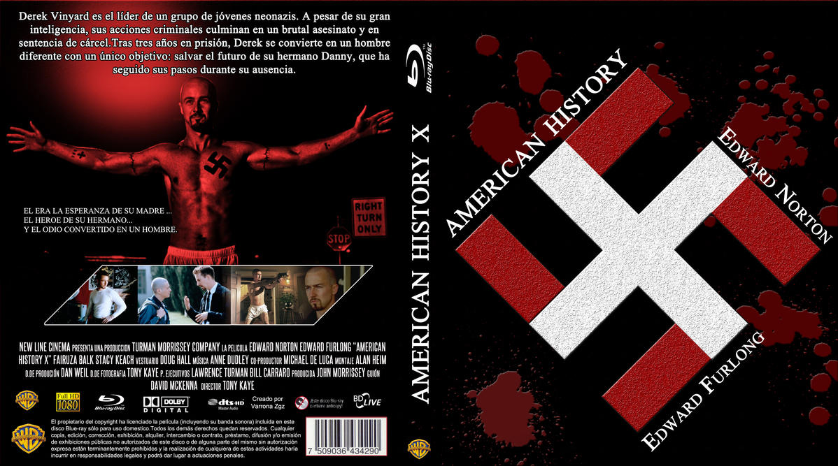 a review of american history x an american crime drama movie by tony kaye It's been 15 years since the release of 'american history x' camera drama behind american history x 1 kaye was raised crime drama black water.