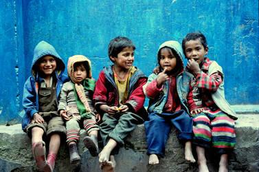 Kids in India by MULKT