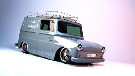 VW Typ 147 - Fridolin by svenndesign