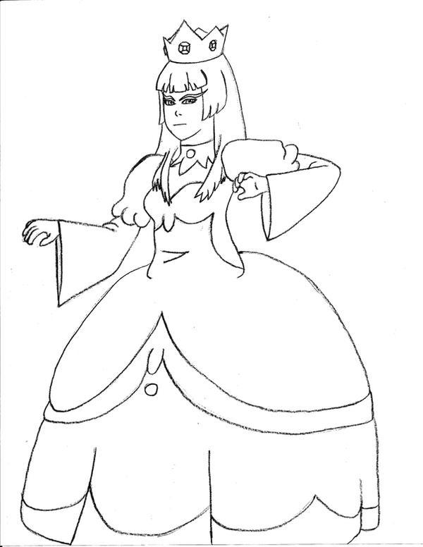 Line Art Queen : Zizi as ice queen line art by gogglespizano on deviantart