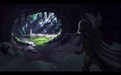 Finding the Master Sword by 89ravenclaw