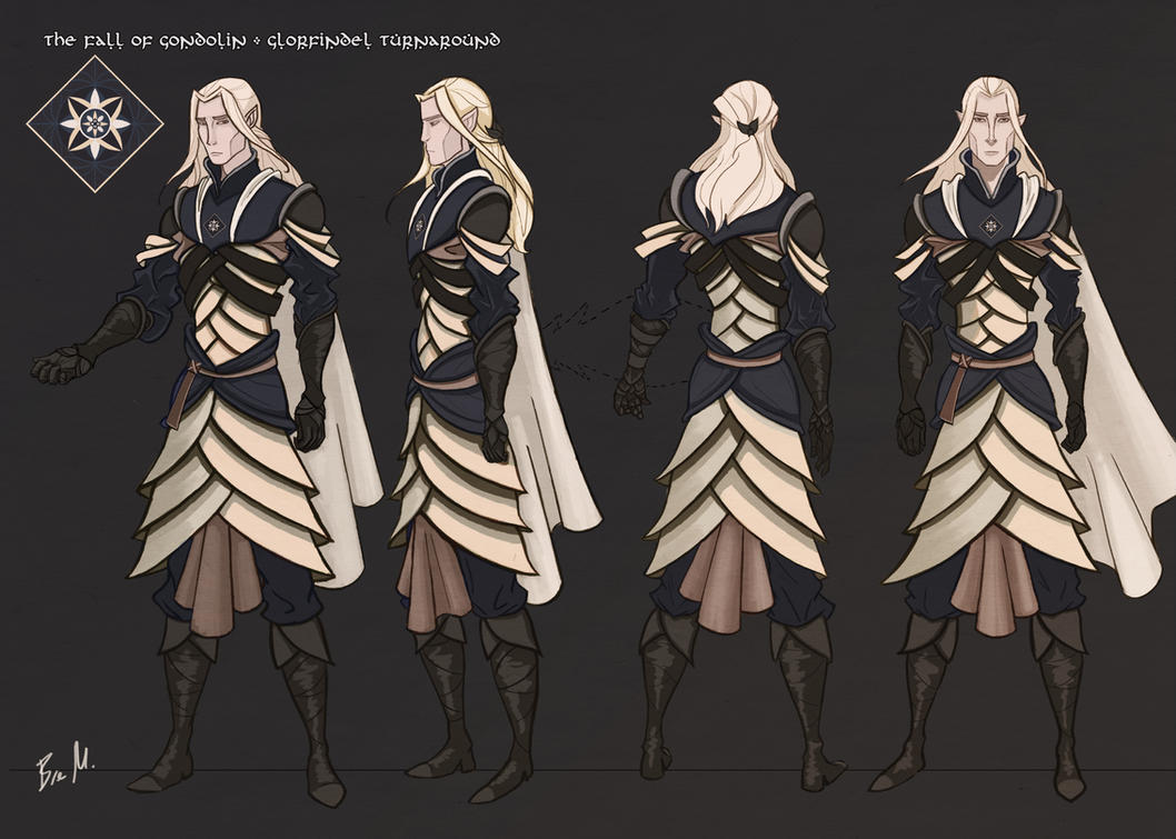 Glorfindel Turnaround by 89ravenclaw