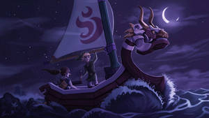 Legend of the Wind Waker by 89ravenclaw