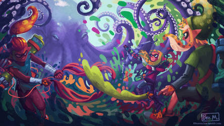 Legend of Splatoon by 89ravenclaw
