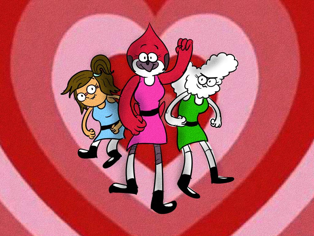 Regular Powerpuff Girls by LotusTheKat