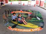 Faux Kayaking at Jupiter Jubilee