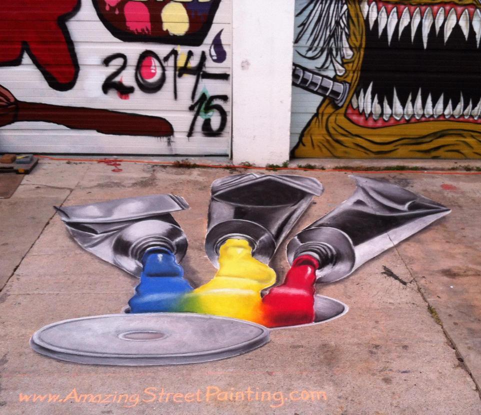 Boyton Beach Arts District Art Walk  - Finished by AmazingStreetPaint