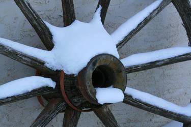 Winter old Wheel