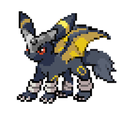 ultimate umbreon sprite by wolftail1999-d4z54t9 pngUmbreon Sprite