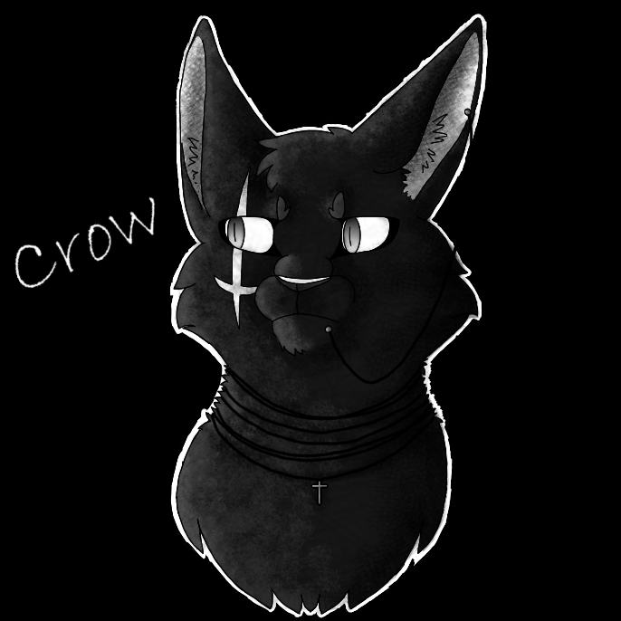 Art trade Crow by wolftail1999