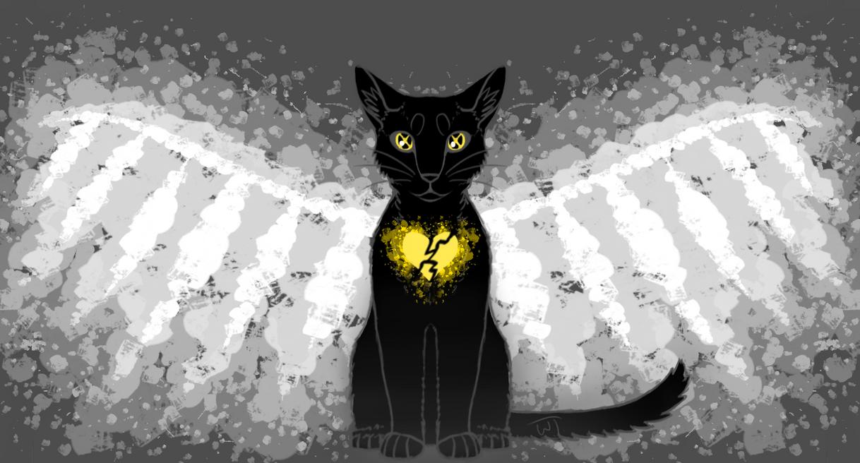 Dark angel by wolftail1999