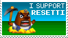 Mr. Resetti Stamp