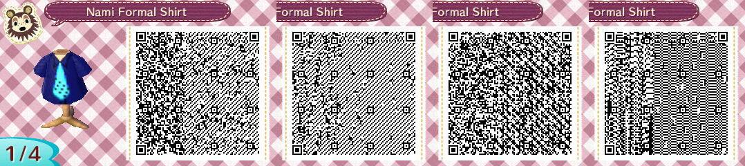 Nami Formal Shirt by TheStaticStalker