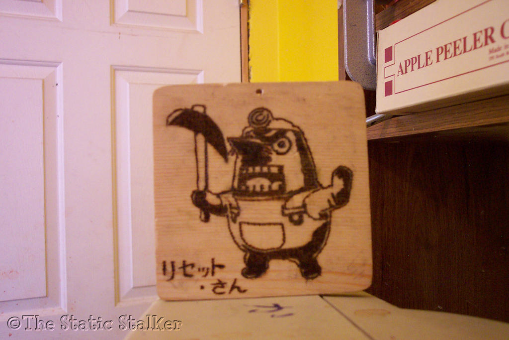 Mr. Resetti (Woodburn) by TheStaticStalker