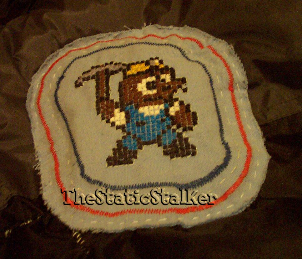 Resetti Cross-stitch by TheStaticStalker