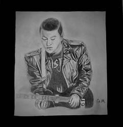 Zacky Vengeance, pencil- age 21 by GabbityGabby