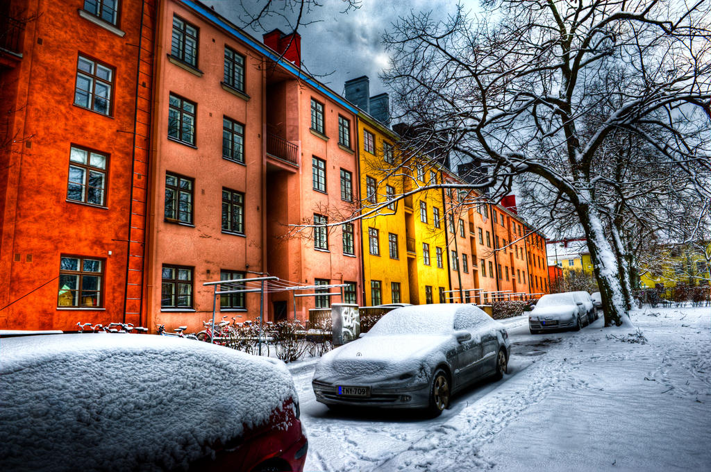 Helsinki colors by valkeeja