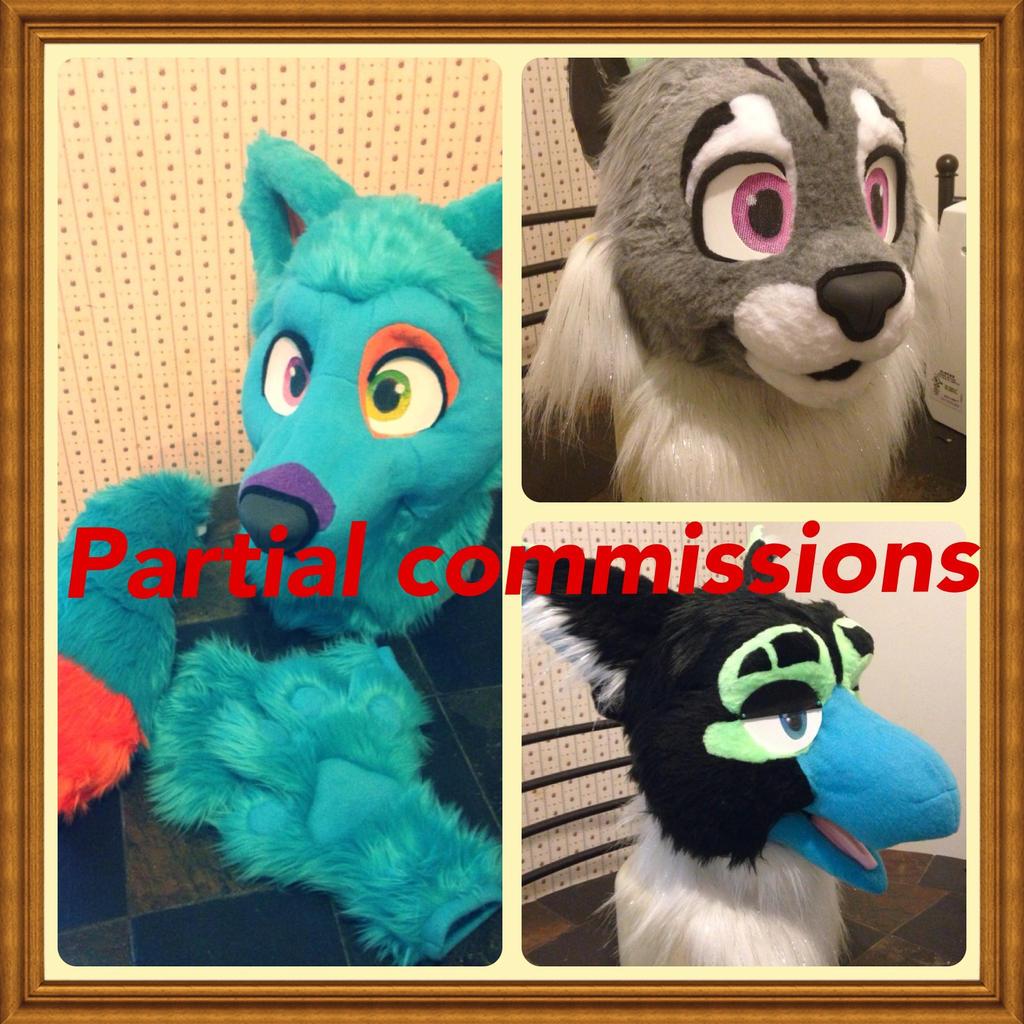 Partial commissions by Purple-Slushie