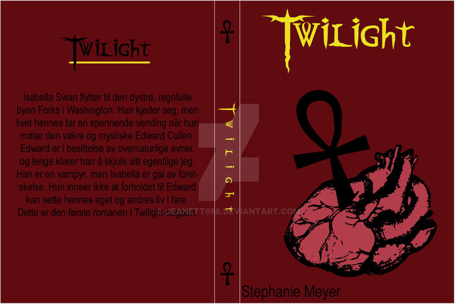 Twilight Book Cover Drawing : Twilight book cover by jeanett on deviantart