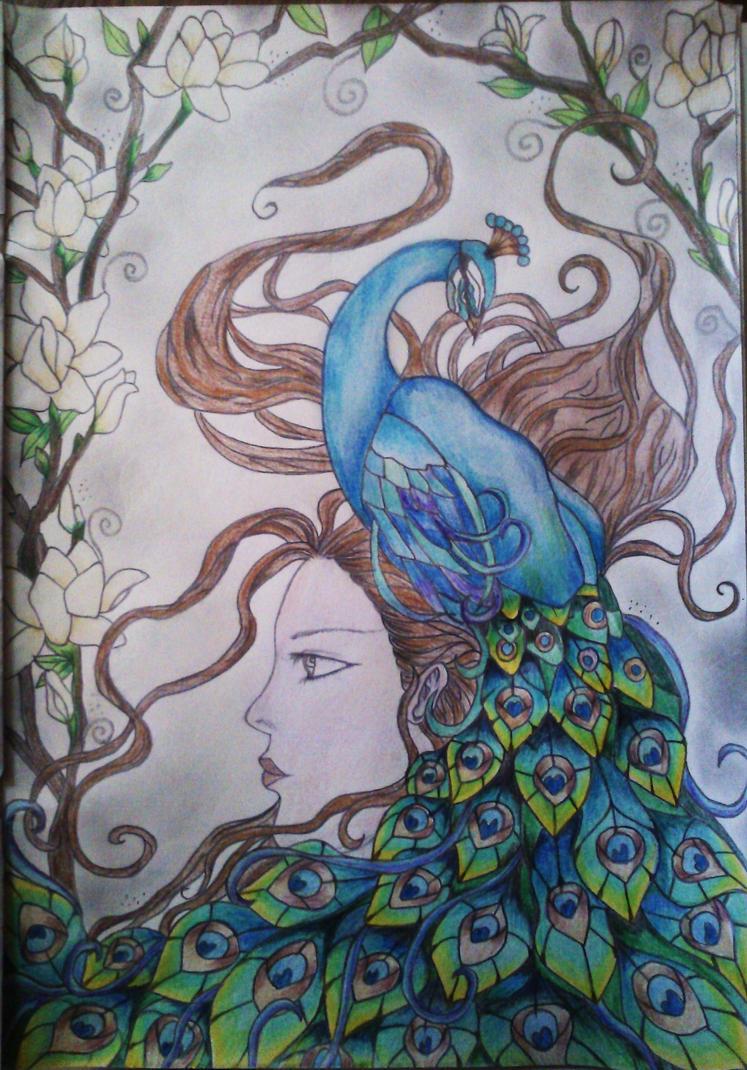 Peacock illusion!! by katerinamoraiti